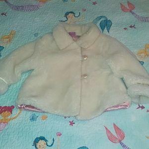 Disney princess faux fur coat 2